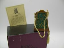 Just The Right Shoe Raine Willittis Designs Carved Heel Matching Purse Miniature