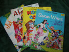 Vintage Color By Number coloring books Aladdin Jack and the Beanstalk Mother Goo