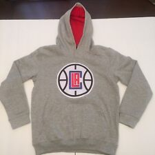 7cec2cc27ed NWT NBA Los Angeles Clippers Youth Hoodie Pullover Sweater Gray Size M Logo