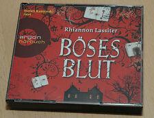 5 CDs in Box - Roman Hörbuch - Rhiannon Lassiter - Böses Blut