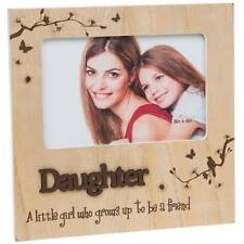 Daughter Gift - Natural Photo Frame With Sentiments 60615