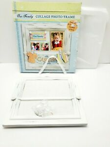 """COLLAGE PHOTO FRAME OUR FAMILY, SIZE 11""""×11"""" - BULLETIN BOARD IS 8""""×8""""..."""