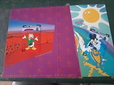 MINT PHONECARD PACK Mickey  And  Donald Downunder