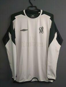 Chelsea Jersey 2004 2005 Goalkeeper MEDIUM Shirt Umbro ig93