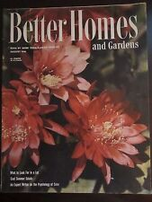 Better Homes & Garden Magazine August 1946 What to Look For in a Lot (G)
