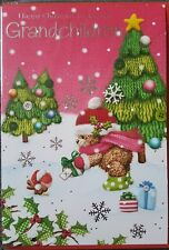 HAPPY CHRISTMAS TO SPECIAL GRANDCHILDREN - CHRISTMAS CARD