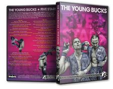 PWG The Young Bucks 5 Star DVD set, ROH CZW New Japan Pro Wrestling Bullet Club