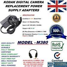 UK 5V AC/DC POWER ADAPTER CHARGER PLUG FOR KODAK EASYSHARE DIGITAL CAMERA M380
