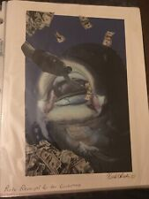 Very Rare Photomontage Collage Surreal Anarchist Outsider Artwork affordable