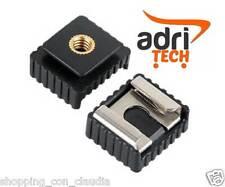 """Adattatore Rapido Slitta Flash con filetto da1/4"""" - Quick Hot Shoe adapter 1/4"""""""