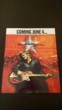 Bryan Adams 18 Til I Die (1996) Rare Original Print Promo Poster Ad