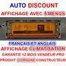 Peugeot 207,307,407,308 & CITROEN C2, C3, C4, C5, multifonction C8 affichage