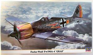 """Hasegawa Fw 190 A-4 """"Graf"""" + Eduard Fw 190 D-9 """"Dortenmann"""""""