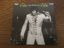 "Elvis Presley ""That's The Way It Is"" RCA Digipak Card Sleeve NEW CD (14 Tracks)"