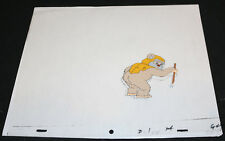 Star Wars Cartoon Painted Animation Cel - Ewok from the Rear - E L 124 G47