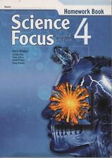 SCIENCE FOCUS 4 - HOMEWORK BOOK - KERRY WHALLEY AND OTHERS - ALMOST NEW