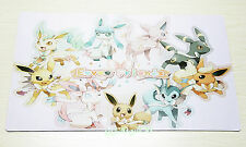 M430 Free Mat Bag Pokemon Eevee Play Mat Custom Made Playmat Large Mouse Pad