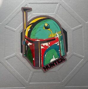 "Star Wars Boba Fett - Mandalorian Sticker / Decal 6""x4"""