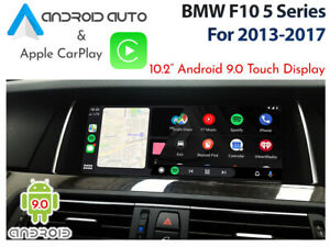 """BMW F10 NBT iDrive - Touch 10.2"""" Android 9.0 Display + CarPlay & Android Auto"""
