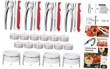 28-Piece Seafood Tools Set - Crab Lobster Crackers and Picks Tools Service