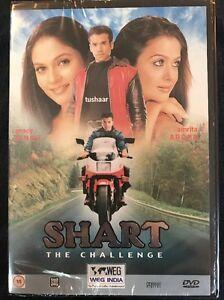 SHART - The Challenge - TUSHAAR KAPOOR - GRACY SINGH - NEW. STILL SEALED. DVD.