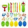 26 PCS/set Polymer Clay Plasticine Playdough Mould Play Doh Tools Mold Toy AU