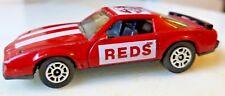 CORGI 1983 Pontiac Firebird S/E Cincinnati Reds Baseball Collector Car Red White