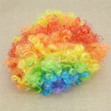 Funny Halloween Clown Curly Fancy Dress Hair Wigs Festive Party DIY Decoration