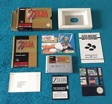 THE LEGEND OF ZELDA * SUPER NINTENDO / SNES R.P.G. * 100% COMPLETE * GWO * PAL *