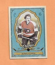 BOBBY CLARKE  UPPER DECK CHAMPS 2009-10 CARD # 75