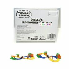 THOMAS & FRIENDS MY FIRST TRAIN SET - DIESEL'S IRONWORKS DELIVERY - NEW