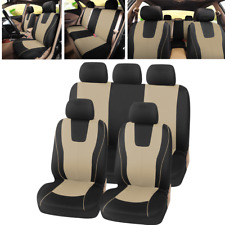 9x Auto Seat Covers Fit for Car SUV Interior Accessories Universal Protectors