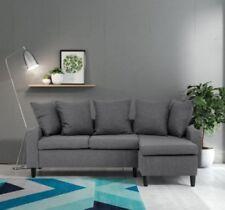 Linen Living Room Modern Sofas