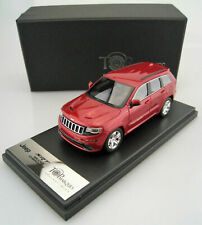 JEEP GRAND CHEROKEE SRT8 2014 RED LINE TOPMARQUES TOP4301ALHD 1/43 RESINE