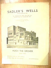 1936 Sadler's Wells Ballad Opera-HUGH THE DROVER/LOVE IN THE STOCKS~R V Williams