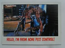 1988 Topps FRIGHT FLICKS Horror Movies Trading Card #32 ~ THE FLY