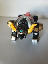 Vintage 1998 Bandai Power Rangers Lost Galaxy Torozord Black Bull Action Figure