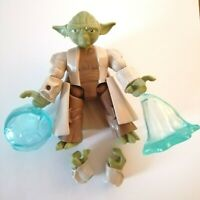 "Hero Mashers Star Wars Yoda Action Figure Hasbro 5"""