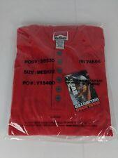 NOS Vintage Marlboro Unlimited Henley  Thermal Shirt Long Sleeve Red Mens Medium