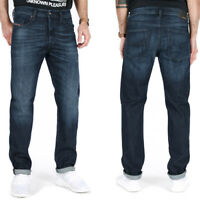 Diesel Herren Regular Slim Fit Stretch Jeans - Dunkelblau - Buster 0095W