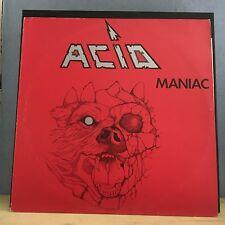 ACID Maniac  1983 Belgian manufactured vinyl LP EXCELLENT CONDITION