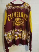 NBA Cleveland Cavaliers Ugly Sweater Christmas King James XXL- pre owned