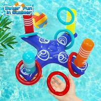 Inflatable Pool Ring Toss Pool Game Toys Floating Swimming Pool Ring