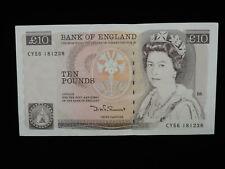 ENGLAND P-379 10 UK UNITED KINGDOM POUNDS 1975-1992 GOLD 24K BANKNOTE MINT!!