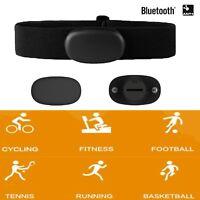 Bluetooth ANT+ Smart Sensor Herzfrequenzmesser Brustgurt für Garmin Suunto Zwift