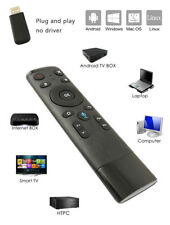 Air Mouse Remote Voice Control Wireless Fly 2.4GHz For Android Smart TV Box