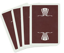 CASINO PLAYING CARDS - WYNN RARE BROWN USED COLLECTIBLE DECK - FREE S/H *