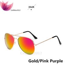 613fc437c4 Retro Aviator Sunglasses Vintage Mirror Lens New Men Women Fashion Frame  Glasses