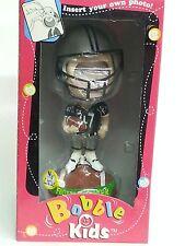 NFL BOBBLE KIDS Bobble Head Doll, Insert Your Own Photo, NEW