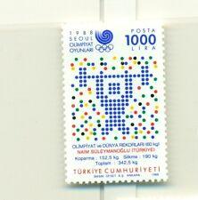 OLYMPIC GAMES SEOUL 1988 TURKEY 1988 Gold Medal Winner